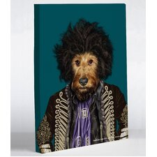 Pets Rock Psychedelic Canvas