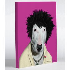 Pets Rock Punk Canvas
