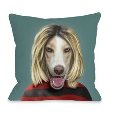 Pets Rock Grunge Pillow