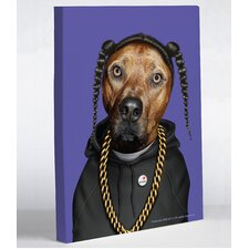 Pets Rock Rap Graphic Art on Canvas
