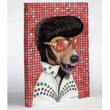 Pets Rock Vegas Graphic Art on Canvas