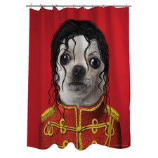 Pets Rock Pop Polyester Shower Curtain