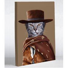 Pets Rock Western Canvas