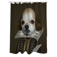 <strong>OneBellaCasa.com</strong> Pets Rock Shakespeare Polyester Shower Curtain