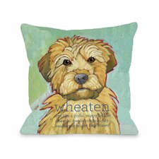 Doggy Décor Wheaten1 Pillow