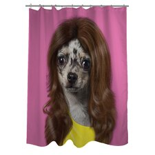 Pets Rock Wag Polyester Shower Curtain
