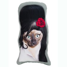 Pets Rock Tattoo Shaped Pillow