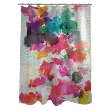 Oliver Gal Inside Her Eyes Polyester Shower Curtain