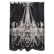 Oliver Gal Dramatic Entrance Polyester Shower Curtain