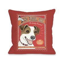 Doggy Décor Jack Russell Roast Pillow