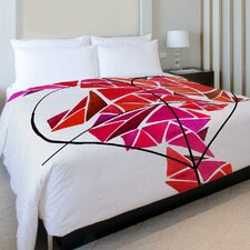 Oliver Gal Piece of My Heart Duvet Cover Collection