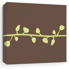 Nourish Sprout Stretched Graphic Art on Canvas