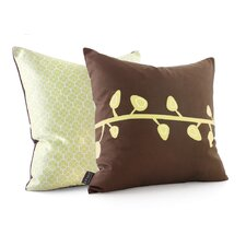 <strong>Inhabit</strong> Nourish Sprout Suede Throw Pillow