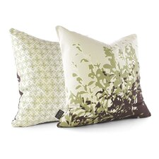 Botanicals Foliage Linen Throw Pillow