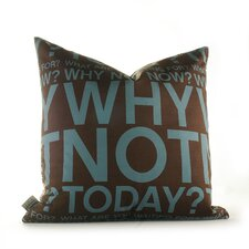 <strong>Inhabit</strong> Graphic Pillows Why Not Synthetic Pillow