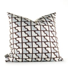 <strong>Inhabit</strong> Estrella Faux Houndstooth Synthetic Pillow