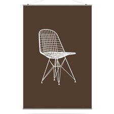 Modern Classics 1951 Slat in Chocolate and Sunshine