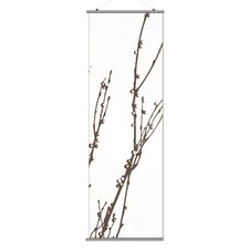 Morning Glory Undergrowth 3 Slat Wall Hanging