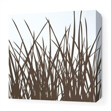 <strong>Inhabit</strong> Grass Stretched Wall Art