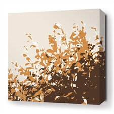 Foliage Stretched Wall Art in Sunshine
