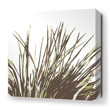 Thatch Stretched Wall Art in Grass
