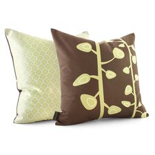 <strong>Inhabit</strong> Nourish Bud Suede Throw Pillow