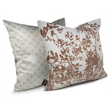 Spa Brush Suede Throw Pillow