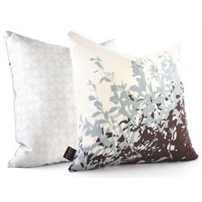 Botanicals Foliage Suede Throw Pillow