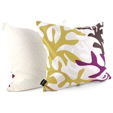Spa Reef Suede Throw Pillow