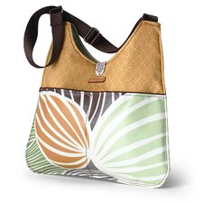 Nixon Leaf Handbag in Grass / Butterscotch