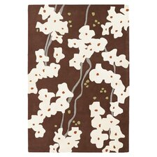 <strong>Inhabit</strong> Pyrus Rug in Chocolate/ Soy