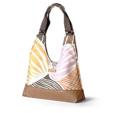 Reagan Leaf Handbag in Blush / Sunshine
