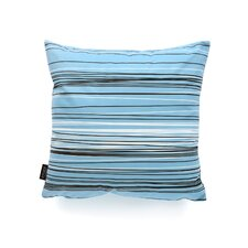Rhythm Rain Suede Throw Pillow