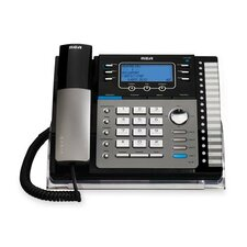 Visys 4-Line Phone with Digital Answering Machine, Caller Id