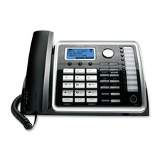 Visys 2-Line Corded Speakerphone with Digital Answering System