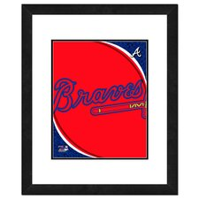MLB Logo Framed Photo