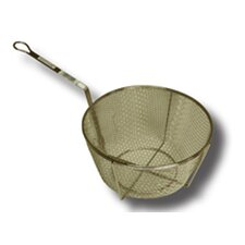 Straining Basket with Attached Hanger Hook