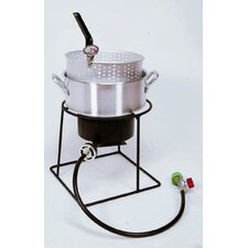 Welded Outdoor Fish Fryer Package With 10 Quart Deep Fryer