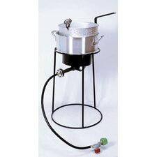 Outdoor Cooker Package with Aluminum Fry Pan