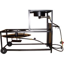 "Portable Propane Bolt Together 30"" Fryer Boiling Cart Package"
