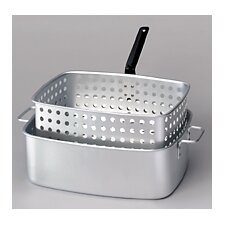 Rectangular Fry Pan and Basket
