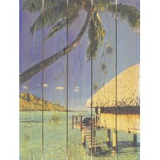 <strong>Gizaun Art</strong> Tropic Paradise Wall Art