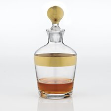 Madison Avenue Gold Band Whiskey Decanter