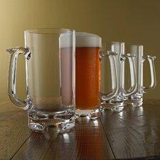 Indoor and Outdoor 34 Oz. Beer Tankard (Set of 4)