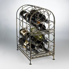 Table Top 8 Bottle Wine Jail