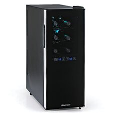 Silent 12 Bottle Dual Zone Touchscreen Wine Cooler