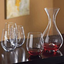 2-Piece U Decanter And Tumblers Gift Set