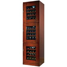 48 Bottle Triple Zone Thermoelectric Wine Refrigerator