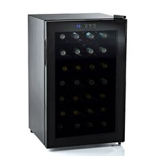<strong>Wine Enthusiast</strong> Silent 28 Bottle Touchscreen Wine Refrigerator