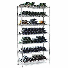 <strong>Wine Enthusiast</strong> Pantry 126 Bottle Wine Rack
